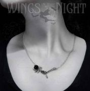 ALCHEMY GOTHIC Love Never Dies Pendant Necklace | Gothic Jewellery